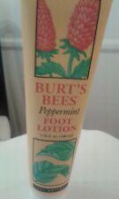 Burt's Bees Peppermint Foot Lotion, 3.38 Ounces  100% natural original  new