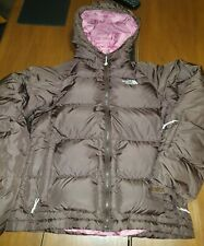 RARE THE NORTH FACE 700 NUPTSE GOOSE DOWN HOODED COAT JACKET S 10 PUFFA PUFFER