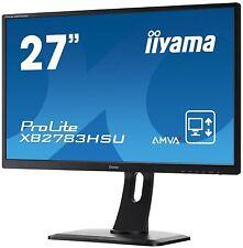 Iiyama Prolite XB2783HSU-B1 27 inch LED Monitor - Full HD, 4ms, Speakers, HDMI