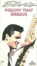Follow That Dream VHS 1992 Elvis Presley Arthur O'Connell Anne Helm Musical NR