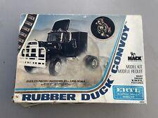 ERTL 1/25 Rubber Duck Convoy Mack Truck blueprint replica model kit (#8036)
