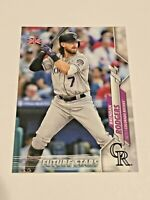 2020 Topps Baseball UK Edition Future Stars - Brendan Rodgers - Colorado Rockies