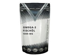 Omega 3 Kapseln 1000 mg - 1000 Omega 3 Kapseln 1000mg Fischöl Beste Qualität