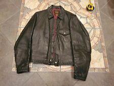 Vintage 1950's Harley Davidson Horsehide Leather Motorcycle Jacket