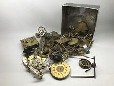 Lot de pièces d'horlogerie anciennes pendule horloge mouvement carillon no odo