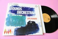 John Schroeder LP The Sound Di Today Orig '60 Italy MInt Promo Unplayed