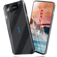 Silikon Case für Asus Zenfone 6 (ZS630KL) Schutz Hülle Transparent Back Cover
