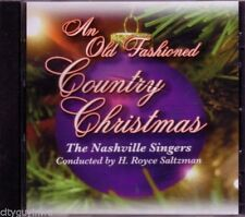 NASHVILLE SINGERS Old Fashioned Country Christmas CD Classic CHRISTMAS TREE  #32