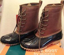 NIB Womens Sporto Original Duck Boots Sz 8