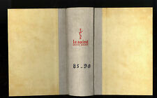 LE SAINT MAGAZINE  RELIURE TOME 85-90 CORNELL WOOLRICH-SAX ROHMER-WENZELL BROWN