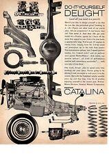1962 PONTIAC CATALINA - DUAL-CARB / TRI-CARB  ~  NICE ORIGINAL PRINT AD