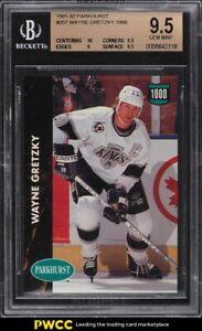 1991 Parkhurst Wayne Gretzky 1000 #207 BGS 9.5 GEM MINT