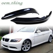 Painted For BMW 3-Series E90 4D Sedan Front Bumper Lip Splitter 06-08 323i