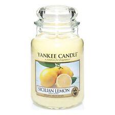 Yankee Candle vela tarro grande siciliano Lemon