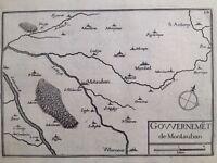 Tarn en 1638 Saint Antonin Noble Val Montauban Labastide Villemur Mirabel