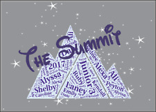 Cheerleading Cheer Customized Pillowcases Team Or Summit / D2 Gift No Bow NEW