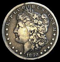1880-CC Morgan Silver Dollar - Toner - Carson City - Highly Sought *Key*