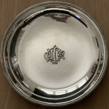 Vintage Christian Dior Silver Plated Dish
