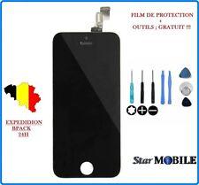 VITRE TACTILE POUR IPHONE 5S NOIR 1ère QUALITE + ECRAN LCD SUR CHASSIS + OUTILS