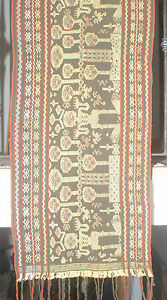 Hand woven wall hanging from Lombok weaving