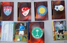 139 CARDS PANINI KOREA/JAPAN 2002=MANCA SOLO LA N°47 PER AVERLO COMPLETO