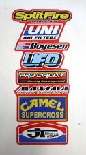Rear Fender Decal CR 125 250 500 1985 to 1987 & 90-91 Graphics Stickers #6
