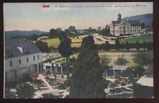Postcard SANTA  BARBARA CA St. Anthony's College 1907?