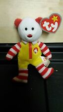 Ty Stuffed Ronald McDonald Bear Collectable Excellent Condition 2004