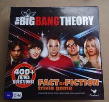 The Big Bang Theory Fact or Fiction Trivia Game by Cardinal Games