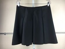 e0c5147a17 1. State NEW Women's Black Solid Pleated Skirt Size Large Regular