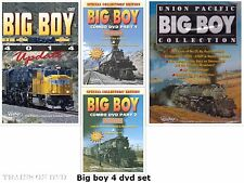 UNION PACIFIC BIG BOY 4 DVD SET PENTREX NEW DVD VIDEO
