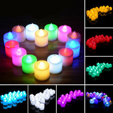 24PCS Yellow Candles Flameless Electronic LED Tea cons dy*