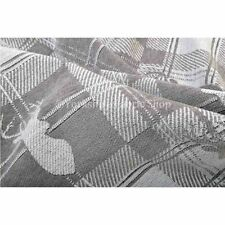 Tessuti e stoffe grigi per hobby creativi jacquard al metro
