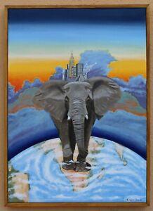 Original art painting 'Capitalism'