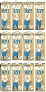 OATLY Oat Drink Organic 1 Litre (Pack of 12) Oat Milk Made for Coffee