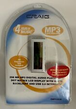 NEW Craig 512 MB MP3 Digital Audio Player MP3/WMA Compatible SEALED