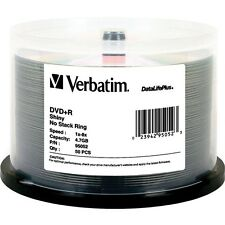 Verbatim DataLifePlus 8x DVD+R Media 4.7GB 50-Pack Spindle