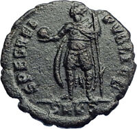 CONSTANTIUS II Constantine the Great son 337AD Ancient  Roman Coin Virtus i74207