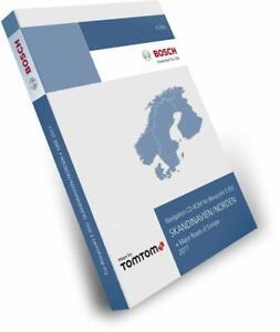 Tele Atlas CD Skandinavien/Norden + MRE 2017 TP E (EX)