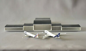 Airport (3) Terminal Full Main Building 1/500 scale