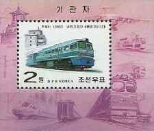 Timbre Trains Corée BF417 ** année 2002 lot 17204
