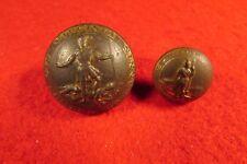 Civil War 2 Confederate VA Buttons (Coat & Cuff) - Dug Chesterfield, VA RIB