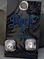 Rock 47 Pins & Needles Lines in the Sand Earrings (ER3009R47) Montana Silver