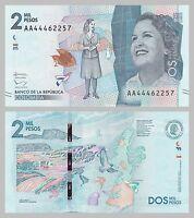 Kolumbien / Colombia 2000 Pesos 2015 p458a unz.