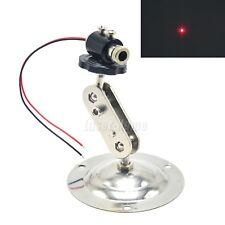 Focusable 650nm 5mW Red Dot Laser Diode Module  3-5V LED +12mm Adjustable Holder