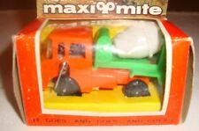 Vintage 1960's Maxi Mite Wind up Construction Truck (Cement Mixer) - NIB