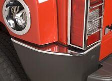 2006 - 2010 Hummer H3 Chrome Rear Bumper Corner Covers caps trim ends