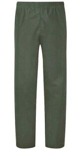 LADIES WATERPROOF WINDPROOF OLIVE GREEN TROUSERS all size outdoor hiking bottoms