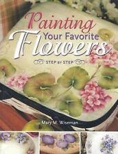 Painting Flowers Violets Pansies Geraniums How To Instruction Book Floral Diy