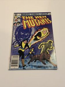 Marvel Comic The New Mutants # 1 1983